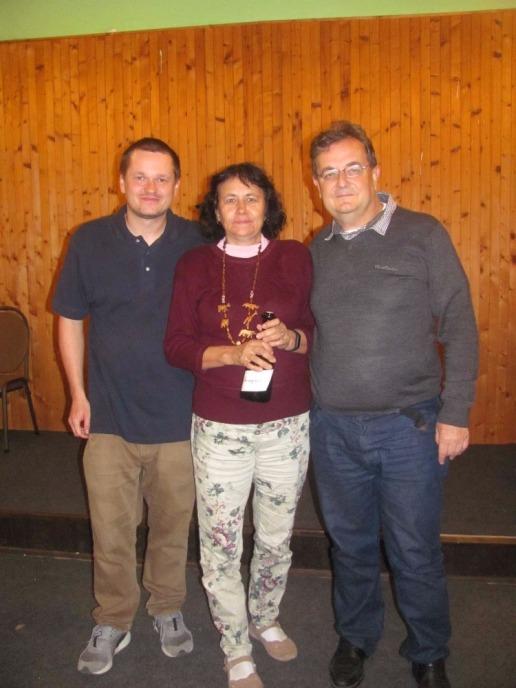 Autorka fotografií ze závěrečného ceremoniálu Jane Erdeová skončila s Vladimírem Nulíčkem ve Finále A čtvrtá.